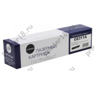 Тонер-картридж NetProduct (N-CE311A) для HP CLJ CP1025/1025nw/Pro M175, C, 1K