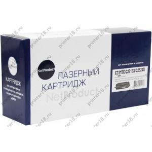 Картридж NetProduct (N-C7115X/Q2613X/Q2624X) для HP LJ 1200/1300/1150, Универсальный, 4K