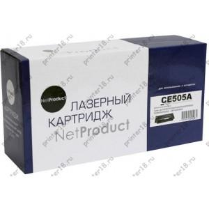 Картридж NetProduct (N-CE505A) для HP LJ P2055/P2035/Canon №719, 2,3K