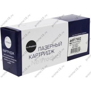 Тонер-картридж NetProduct (N-44917602) для OKI B431/MB491/MB461/MB471, 12K