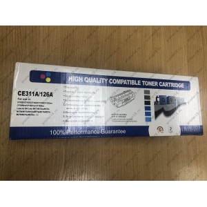 Картридж CNC CE311A/126/729/CF351A для HP CP1025/1025NW/ LBP7010/7018 (ресурс 1000) C