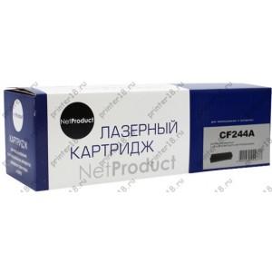 Картридж NetProduct (N-CF244A) для HP LJ Pro M15/M15a/ MFP M28a/M28w, 1K