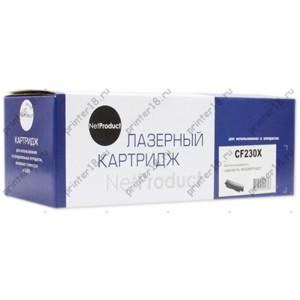 Тонер-картридж NetProduct (N-CF230X) для HP LJ Pro M203/MFP M227, 3,5K, с чипом