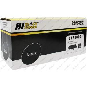 Тонер-картридж Hi-Black (HB-51B5000) для Lexmark MS/MX317/417/517/617, 2,5K