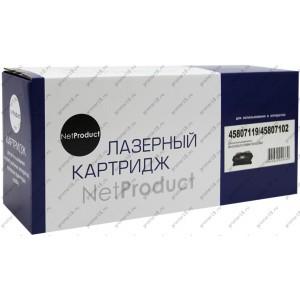 Тонер-картридж NetProduct (N-45807119/45807102) для OKI B412/432/512/MB472/492/562, 3K