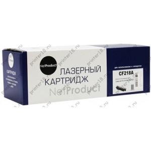 Тонер-картридж NetProduct (N-CF218A) для HP LJ Pro M104/MFP M132, 1,4K, с чипом