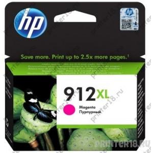 Картридж HP 3YL82AE № 912 струйный пурпурный (825 стр) OfficeJet 801x/802x