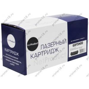 Тонер-картридж NetProduct (N-60F5H00) для Lexmark MX310/MX410/MX510/MX511/MX610/MX611, 10K