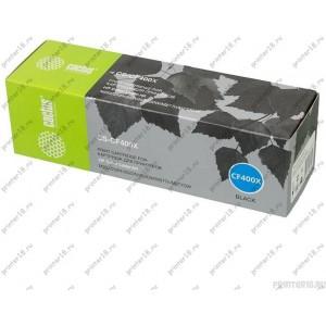 Тонер-картридж Cactus CS-CF400X черный для HP CLJ M252/252N/252DN/252DW/M277n/M277DW (2800стр)