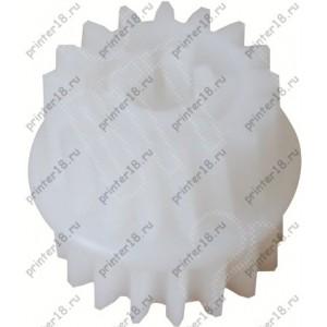 Шестерня 17T/ привода термоузла. для HP LJ P3005/M3027/M3035