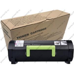 Тонер-картридж 'MY TONER' Lexmark MS417 MS517 MS617/MX417 MX517 MX617 51B5H00 6500 стр